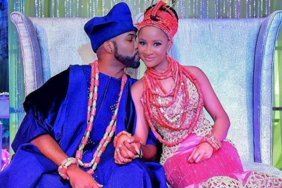 Nigeria: Banky W and Adesua's Traditional Wedding Pictures! #BAAD2017