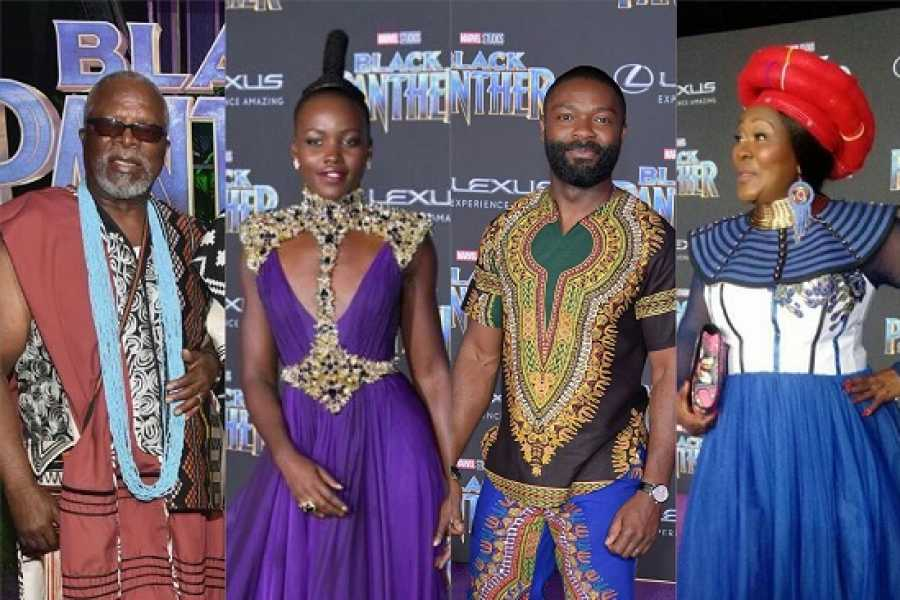 Pictures: African Stars Shine at The Black Panther Premiere!