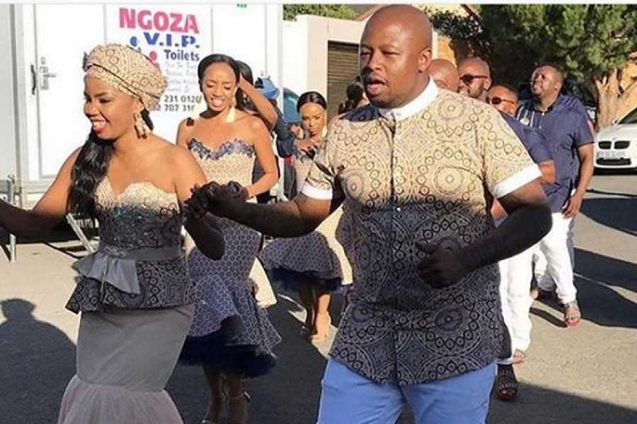 Pictures: South Africa's DJ Naves and Thando's Traditional Wedding!