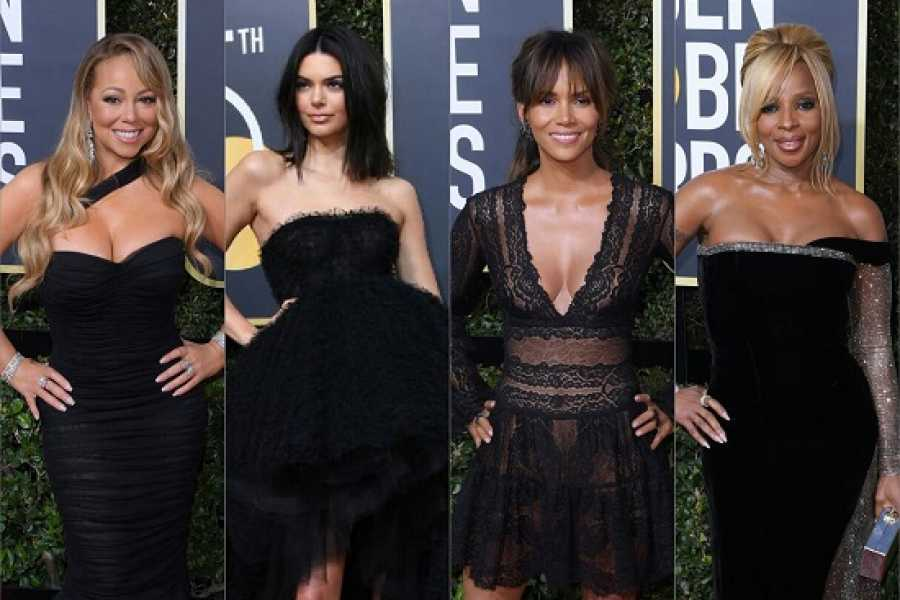 Fashion: Golden Globes 2018 Red Carpet Pictures! #GoldenGlobes2018