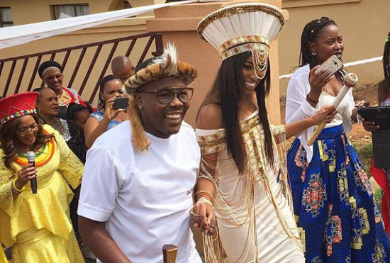 PICS: Khaya Mthethwa and Ntando Kunene's Traditional Wedding!