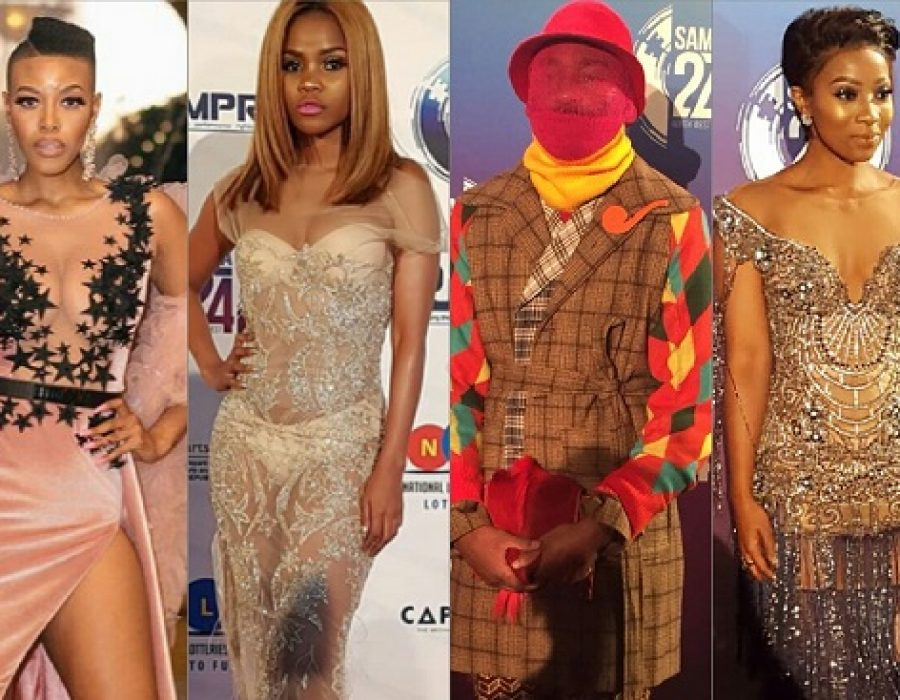Fashion: The SAMA 24 Red Carpet Pictures! #SAMA24