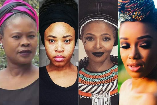 PICS: South African Celebs on #AllBlackWithADoek Friday! #RIPWinnieMandela