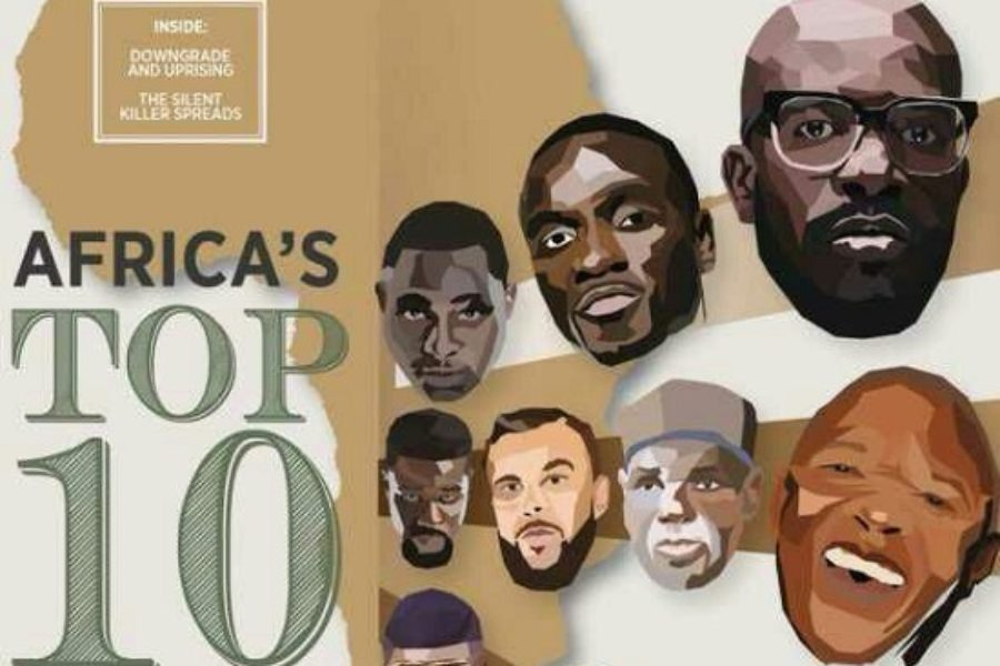 Africa's Top 10 Most Bankable Artists by Forbes Africa!