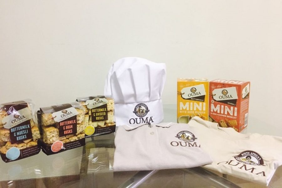 WIN with Ouma Rusks and Ossify Media in South Africa and Mozambique.