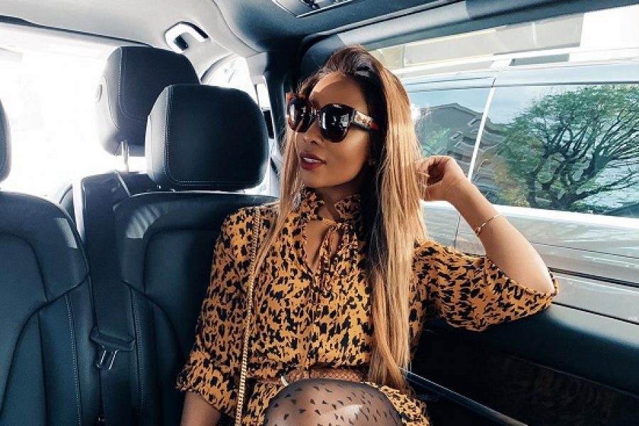 Pearl Modiadie attends Milan Design Week. #MDW2019