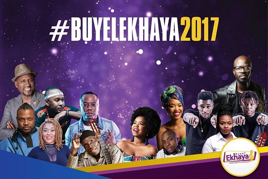 The 9th Annual Buyel'Ekhaya Pan African Cultural Festival. #Buyelekhaya2017