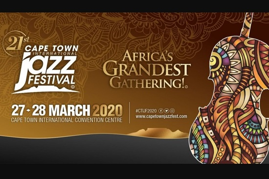 Cape Town International Jazz Festival Postponed due to Coronavirus.
