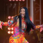 LOS ANGELES, CA - JULY 17: Cardi B is seen at 'Jimmy Kimmel Live' on July 17, 2019 in Los Angeles, California.  (Photo by RB/Bauer-Griffin/GC Images)