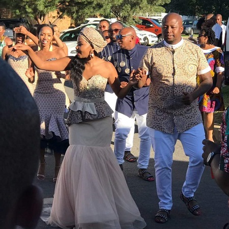 Dj Naves And Thando S Traditional Wedding Pictures