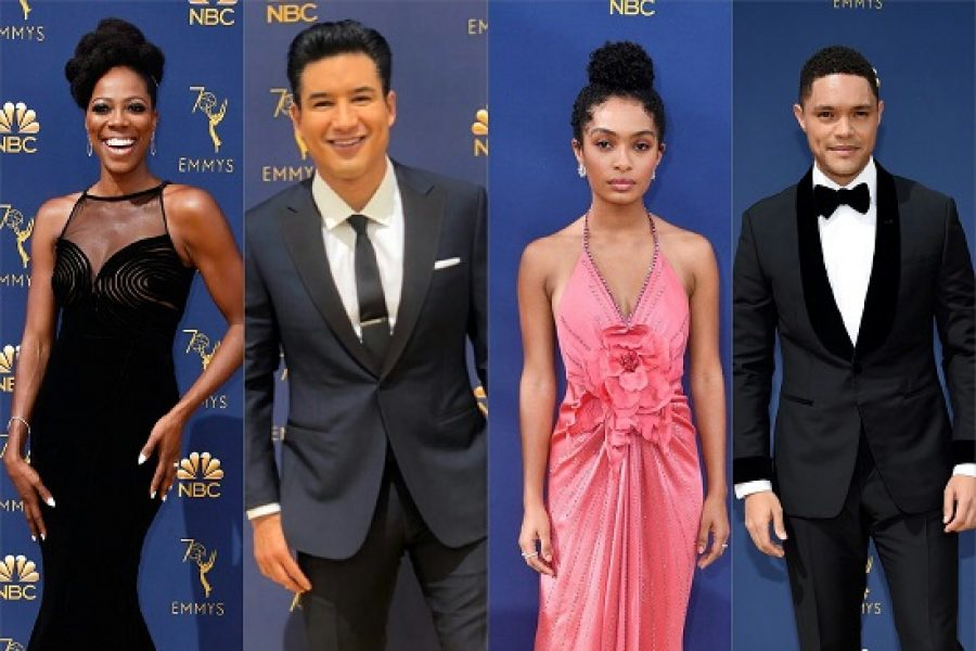 Pictures: The 2018 Emmy Awards Red Carpet Pics!