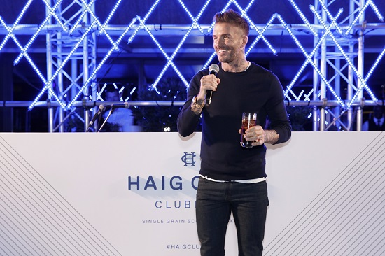 WATCH: David Beckham in South Africa for HAIG Club Launch.