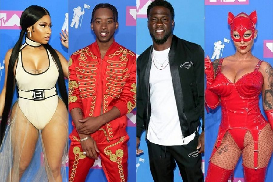 PICS: MTV Video Music Awards 2018 Red Carpet! #MTVVMAs