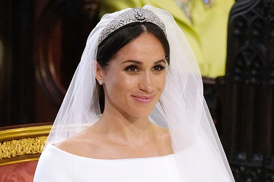 Mandatory Credit: Photo by REX/Shutterstock (9685436bn)Meghan MarkleThe wedding of Prince Harry and Meghan Markle, Ceremony, St George's Chapel, Windsor Castle, Berkshire, UK - 19 May 2018