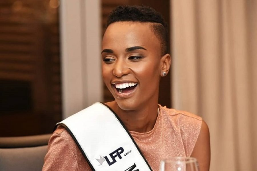 Zozibini Tunzi is the new Miss South Africa! #MissSA2019