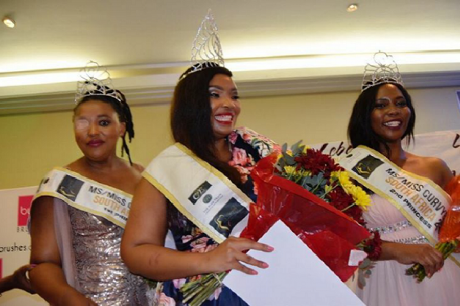 "Nokuthula ""Tulie"" Tanda Crowned the First Ms Curvybody SA"