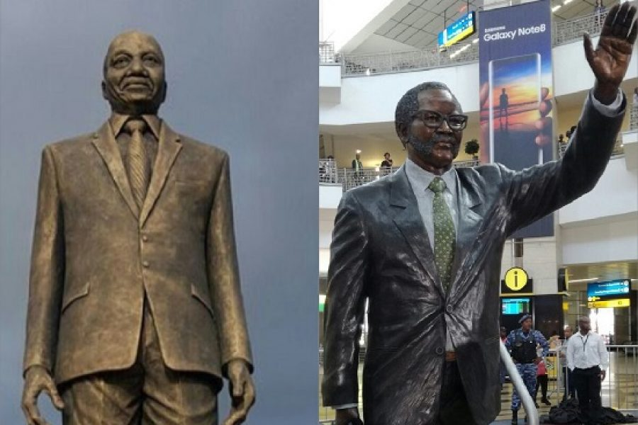 Statues: South Africa Honours Oliver Tambo, Nigeria Honours Jacob Zuma!