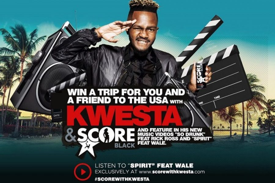 Win a Trip To The USA with Kwesta and Score! #ScoreWithKwesta