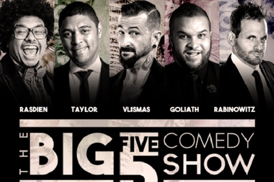 It's Time for Laughs, The BIG 5 COMEDY Show Line Up! #big5comedy