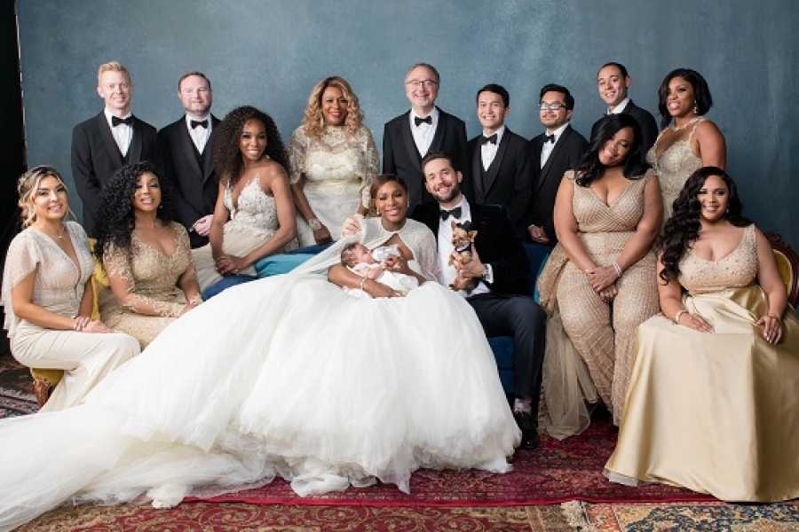 Serena Williams and Alexis Ohanian's Wedding Pictures!
